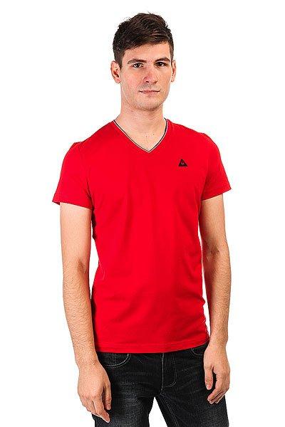 Футболка Le Coq Sportif Lauzet Pur Rouge<br><br>Цвет: синий<br>Тип: Футболка<br>Возраст: Взрослый<br>Пол: Мужской
