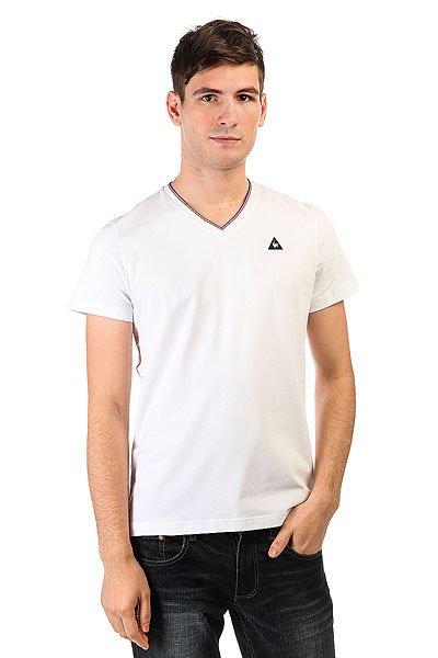 Футболка Le Coq Sportif Lauzet Optical White<br><br>Цвет: белый<br>Тип: Футболка<br>Возраст: Взрослый<br>Пол: Мужской