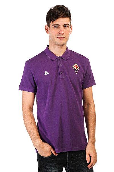 Поло Le Coq Sportif Fiorentina Tenue Pres Players Violet<br><br>Цвет: фиолетовый<br>Тип: Поло<br>Возраст: Взрослый<br>Пол: Мужской