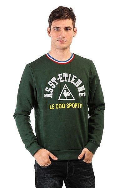 Толстовка классическая Le Coq Sportif Goral Pine Grove<br><br>Цвет: зеленый<br>Тип: Толстовка классическая<br>Возраст: Взрослый<br>Пол: Мужской
