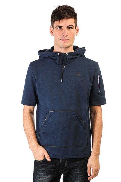 Толстовка кенгуру Le Coq Sportif Lcs Tech Po Hood Dress Blues<br><br>Цвет: синий<br>Тип: Толстовка кенгуру<br>Возраст: Взрослый<br>Пол: Мужской