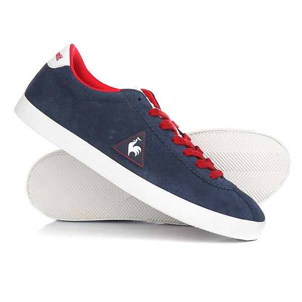 Кеды кроссовки низкие Le Coq Sportif Court Origin Suede Dress Blues кеды кроссовки высокие le coq sportif portalet mid craft hvy cvs suede dress