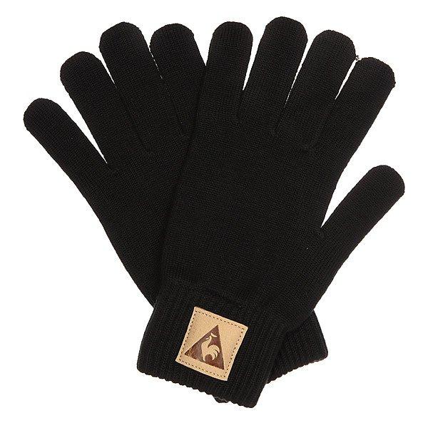 Перчатки Le Coq Sportif Classique Gloves BlackКлассические перчатки из акриловой шерсти станут отличным дополнением любого Вашего образа!Технические характеристики: Плотные вязаные перчатки.Эластичная манжета.Нашивка с логотипом.<br><br>Цвет: черный<br>Тип: Перчатки<br>Возраст: Взрослый<br>Пол: Мужской