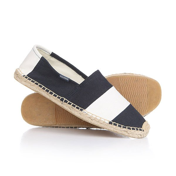Эспадрильи Soludos Original Stripe Barca Navy/White