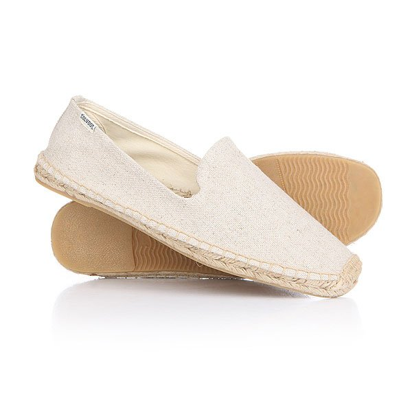 Эспадрильи Soludos Smoking Slipper Cotton Sand