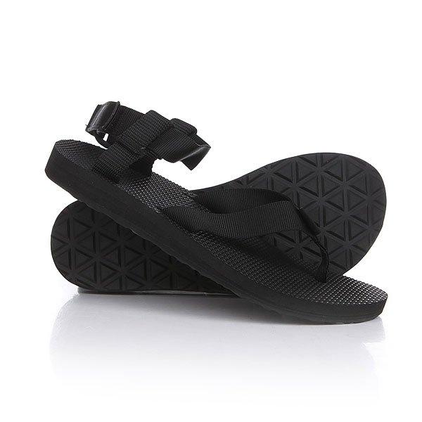 Сандалии женские Teva Original Sandal Black<br><br>Цвет: черный<br>Тип: Сандалии<br>Возраст: Взрослый<br>Пол: Женский