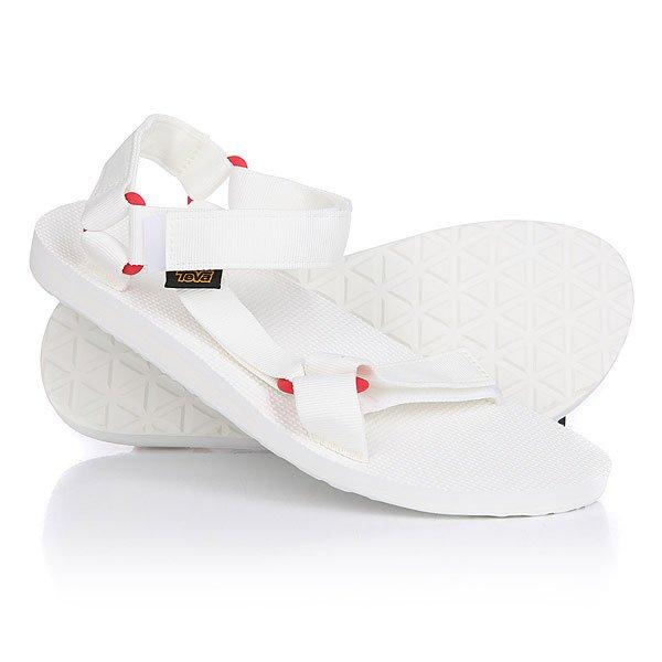 Сандалии Teva Original Universal Sport Bright White<br><br>Цвет: белый<br>Тип: Сандалии<br>Возраст: Взрослый<br>Пол: Мужской