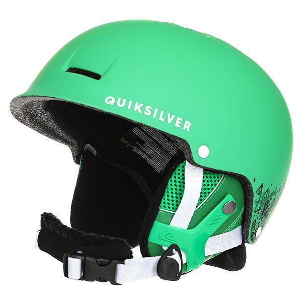 Шлем для сноуборда Quiksilver Fusion Andean ToucanМужской сноубордический шлем Fusion из новой сноубордической коллекции Quiksilver.Технические характеристики: Сверхлегкая двойная конструкция.Пенный амортизирующий наполнитель EPS.Верхняя и фронтальная вентиляция для эффективного воздухообмена.Теплая и комфортная подкладка из флиса и сетки.Мягкие термоформованные съемные ушные накладки.Подходит для использования с аудиосистемой.Ремень для подбородка из шерпы.Зажим для маски.Вес 350 г.<br><br>Цвет: зеленый<br>Тип: Шлем для сноуборда<br>Возраст: Взрослый<br>Пол: Мужской