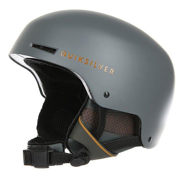 Шлем для сноуборда Quiksilver Axis Climbing IvyМужской сноубордический шлем Axis из сверхпрочного пластика ABS с пенным наполнителем EPS от Quiksilver.Технические характеристики: Сверхпрочная оболочка из пластика ABS.Пенный амортизирующий наполнитель EPS.Верхняя и фронтальная вентиляция с внутренними каналами EPS для эффективного воздухообмена.Теплая и комфортная подкладка из флиса и сетки.Мягкие термоформованные и съемные ушные накладки.Фиксирующий подбородочный ремень из шерпы с застежкой Fidlock®.Зажим для маски.Вес 550 г.<br><br>Цвет: серый<br>Тип: Шлем для сноуборда<br>Возраст: Взрослый<br>Пол: Мужской