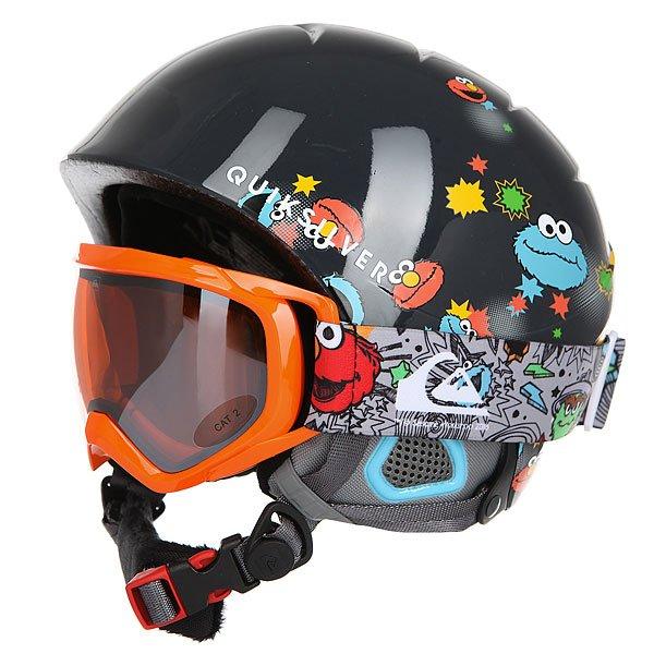 Шлем для сноуборда детский Quiksilver Game Pack Sesame Street Oscar