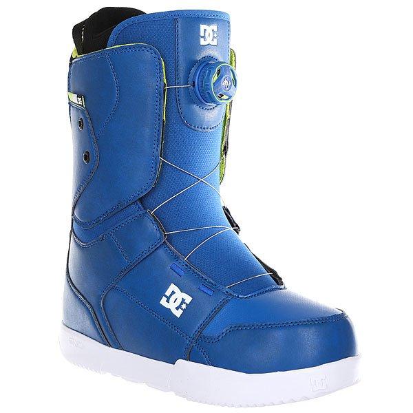 Ботинки для сноуборда DC Scout Nautical BlueМодель Scout может похвастаться скоростной шнуровкой Boa с удобным регулировочным диском и щедрой на амортизацию подошвой Unilite Foundation: это универсальные всесезонные ботинки с очень выгодным соотношением цены к качеству.Технические характеристики: Система скоростной шнуровки Boa® H3 Coiler™.Технологичная и легкая подошва Unilite™ из полимера EVA.Внутренник Red.Базовая сноубордическая стелька.Жесткость 6/10.<br><br>Цвет: синий<br>Тип: Ботинки для сноуборда<br>Возраст: Взрослый<br>Пол: Мужской