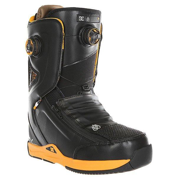 Ботинки для сноуборда DC Travis Rice Black/Yellow