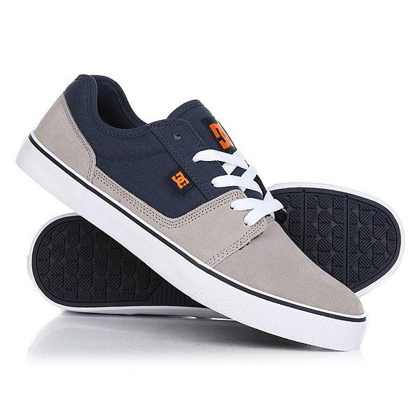 Кеды кроссовки низкие DC Tonik Grey/Blue