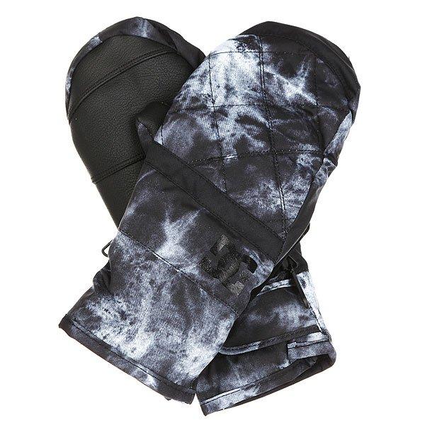 Варежки сноубордические женские DC Seger Tie DyeУтепленные сноубордические варежки Seger.Технические характеристики: Утеплитель 150 г.Водостойкая мембранная вставка 10K.Регулируемые манжеты на липучке Velcro.Замшевая вставка для протирки маски на большом пальце.Цельная подкладка, включая пальцы.Регулируемый лиш.<br><br>Цвет: черный,серый,белый<br>Тип: Варежки сноубордические<br>Возраст: Взрослый<br>Пол: Женский