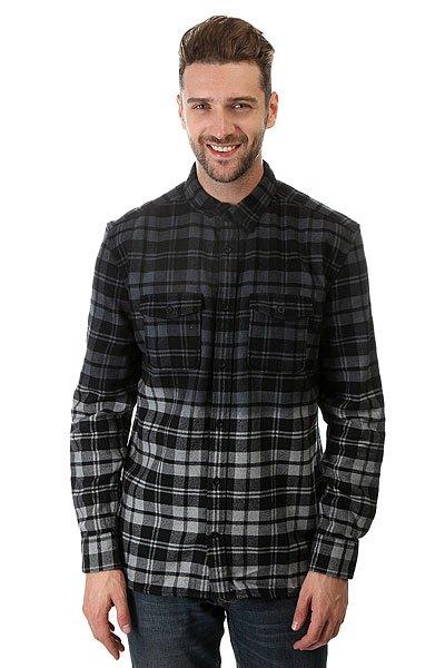 Рубашка в клетку DC Woodale Deep Dyed Heather Grey рубашка в клетку dc woodale deep dyed heather grey