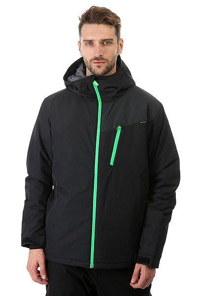 Куртка Quiksilver Mission Plus BlackМужская сноубордическая куртка Mission Plus, в которой сочетаются современные технологии и стильный дизайн. Мембрана DryFlight® 10К и утеплитель Warmflight® обеспечат тепло и комфортное катание в течении всего дня. Можете быть уверены что снег, ветер и непогода не помешают Вам получить максимум удовольствия.Технические характеристики: Синтетический Оксфорд.Утеплитель Warmflight® (тело 140 г, капюшон 80 г, рукава 100 г).Подкладка из тафты.Непринужденный крой, который обеспечивает максимальный комфорт и свободу передвижения.Критические швы проклеены.Вентиляционные отверстия на молнии с сеточной подкладкой.Регулируемый капюшон.Внутренние эластичные манжеты.Внешние манжеты с регулировкой на липучках.Карманы для рук.Карман для скипасса.Внутренний карман для маски.Фиксированная снежная юбка на кнопках.Система пристегивания куртки к штанам.Брелок для ключей.Подол на утяжке для защиты от ветра.<br><br>Цвет: черный<br>Тип: Куртка утепленная<br>Возраст: Взрослый<br>Пол: Мужской