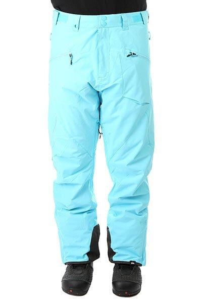 Штаны сноубордические Quiksilver Boundary Plus Bluefish