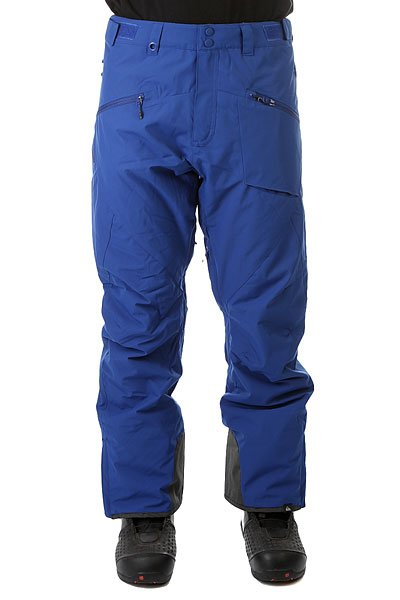 Штаны сноубордические Quiksilver Boundary Plus Sodalite Blue