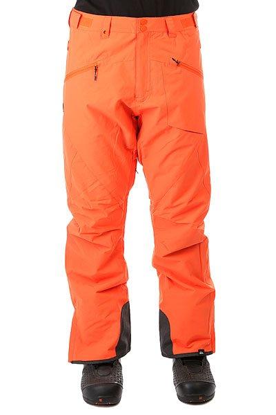 Штаны сноубордические Quiksilver Boundary Plus Flame<br><br>Цвет: оранжевый<br>Тип: Штаны сноубордические<br>Возраст: Взрослый<br>Пол: Мужской