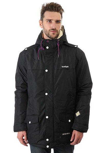 Куртка парка TrueSpin Fishtail Black куртка парка truespin fishtail burgundy