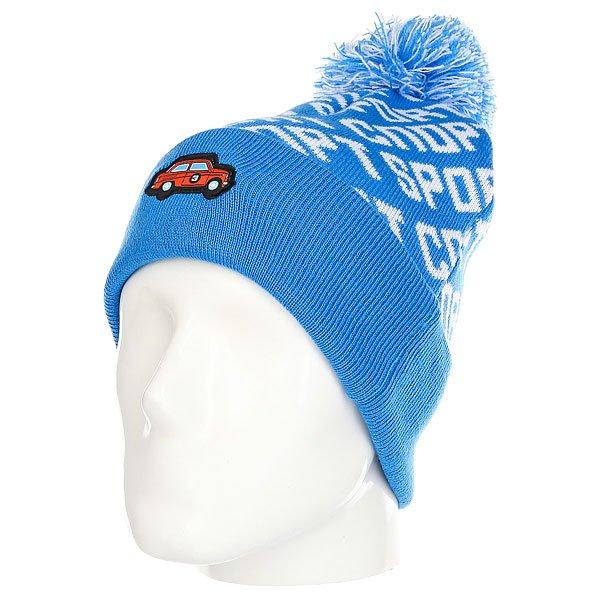 Шапка Запорожец Avto Sport Blue/White<br><br>Цвет: голубой,белый<br>Тип: Шапка<br>Возраст: Взрослый<br>Пол: Мужской