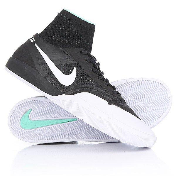 Кеды кроссовки низкие Nike Hyperfeel Koston 3 Xt Black White