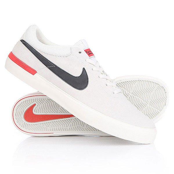 Кеды кроссовки низкие Nike Koston Hypervulc Ivory Black Ember Glow