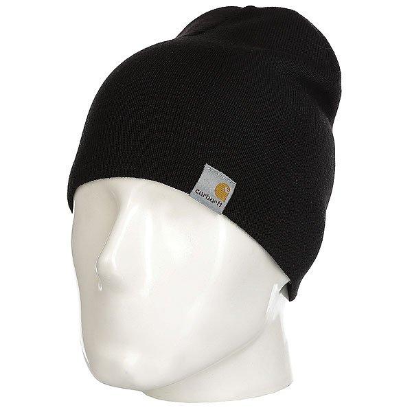 Шапка Carhartt WIP Wip Sport Beanie Black<br><br>Цвет: черный<br>Тип: Шапка<br>Возраст: Взрослый<br>Пол: Мужской