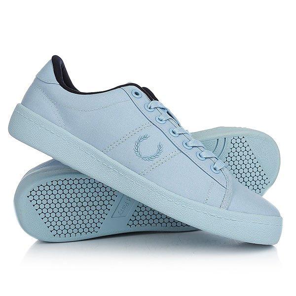 Кеды кроссовки низкие Fred Perry Reissue Tennis Shoe 2 Waxed Cotton Light Blue<br><br>Цвет: голубой<br>Тип: Кеды низкие<br>Возраст: Взрослый<br>Пол: Мужской
