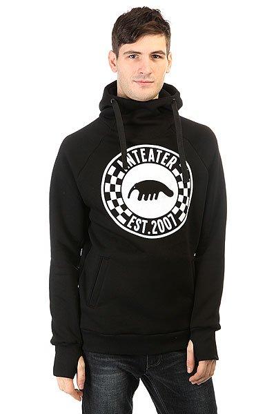 Толстовка сноубордическая Anteater Hoodie Checker<br><br>Цвет: черный<br>Тип: Толстовка сноубордическая<br>Возраст: Взрослый<br>Пол: Мужской