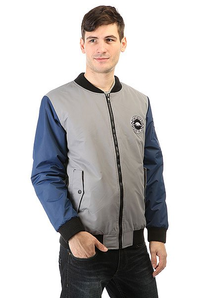 Бомбер Anteater Bomber Lux Combo Grey