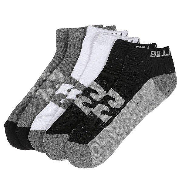 Носки низкие Billabong Ankle Sock 3 packs Assorted