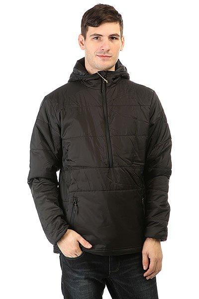 Анорак Billabong Brisk Primaloft Hood BlackЛегкая куртка из коллекции Adventure Division с утеплителем Primaloft гарантирует максимальную тепловую эффективность, непревзойденную воздухопроницаемость, мягкость и легкость.Технические характеристики: Стеганая куртка с  утеплителем Primaloft 100 гр.Нейлоновая подкладка.Фиксированный капюшон.Карманы для рук на молнии.Эластичные манжеты защищают от ветра обеспечивая дополнительный уровень комфорта.Укороченная застежка на молнии.<br><br>Цвет: черный<br>Тип: Анорак<br>Возраст: Взрослый<br>Пол: Мужской