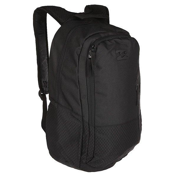 Рюкзак городской Billabong Shadow StealthПусть этот рюкзак следует за Вами всегда и везде. Он надежно сохранит и организует Ваши ежедневные потребности.Технические характеристики: Два отделения.Мягкий карман для ноутбука.Передний карман на молнии.Усиленное дно.Эргономичные плечевые ремни.Логотип Billabong.<br><br>Цвет: черный<br>Тип: Рюкзак городской<br>Возраст: Взрослый<br>Пол: Мужской