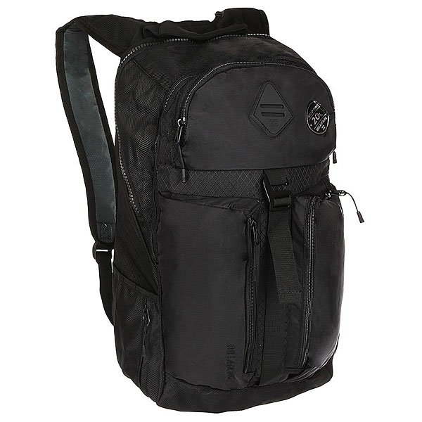 Рюкзак городской Billabong Vector Pack StealthПодготовится к путешествию с рюкзаком Vector, в котором места хватит для всего! Он подойдет для снаряжения или повседневного использования.Технические характеристики: Универсальный рюкзак.Большое основное отделение.Карман для ноутбука 15.Несколько тайных карманов.Боковые карманы.Верхний карман на молнии для аксессуаров.Компрессионный ремень для полотенца или одеяла.Карабин.Резиновый подвес для крепления дополнительного груза.Эргономичные плечевые ремни.Логотип Billabong.<br><br>Цвет: черный<br>Тип: Рюкзак городской<br>Возраст: Взрослый<br>Пол: Мужской