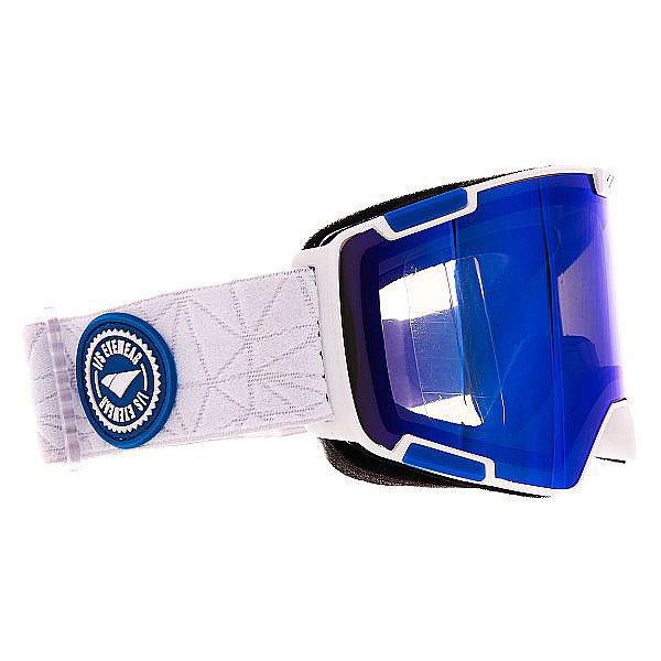 Маска для сноуборда I/S Eyewear Crew Nw Icon Matte White Ice Blue SmokeПроизводительная маска с цилиндрическими линзами от Carl Zeiss Vision.Технические характеристики: Цилиндрические линзы Carl Zeiss Vision.Средний размер.Маска совместима со шлемом.Многослойное покрытие линзы для защиты от царапин, воды или обледенения.Тройной слой пены и слой флиса для комфортного прилегания маски.Отличный периферийный обзор.Покрытие против запотевания Anti-fog.Уникальная циркуляция воздуха.Широкий ремень с регулировкой.<br><br>Цвет: белый,синий<br>Тип: Маска для сноуборда<br>Возраст: Взрослый<br>Пол: Мужской