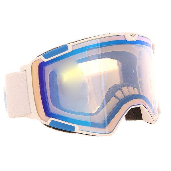 Маска для сноуборда I/S Eyewear Crew Nw Icon + Bunus Lense Matte White Blue YellowПроизводительная маска с цилиндрическими линзами от Carl Zeiss Vision.Технические характеристики: Цилиндрические линзы Carl Zeiss Vision.Средний размер.Маска совместима со шлемом.Многослойное покрытие линзы для защиты от царапин, воды или обледенения.Тройной слой пены и слой флиса для комфортного прилегания маски.Отличный периферийный обзор.Покрытие против запотевания Anti-fog.Уникальная циркуляция воздуха.Широкий ремень с регулировкой.Сменная линза в комплекте.<br><br>Цвет: белый,синий<br>Тип: Маска для сноуборда<br>Возраст: Взрослый<br>Пол: Мужской