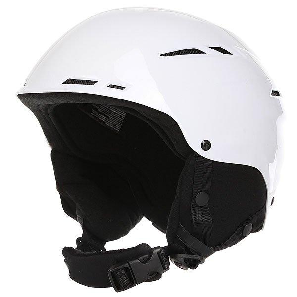 Шлем для сноуборда женский Roxy Alley Oop Rent Bright WhiteAlley Oop, и никакой трюк Вам не страшен! Теперь защищать свою голову стало еще приятней: внутренняя мягкая флисовая отделка для большего комфорта, продуманная система вентиляции, мягкие наушники и регулировка объема делают этот шлем еще более совершенным. Разработчики не забыли и про внешний вид, поместив на шлем логотип Roxy в форме снежинки.Характеристики:Система вентиляции. Регулировка по объему головы. Крепление для очков. Мягкий вкладыш для подбородка. Шелл из ABS-пластика. Съемные ушные накладки.<br><br>Цвет: белый,черный<br>Тип: Шлем для сноуборда<br>Возраст: Взрослый<br>Пол: Женский