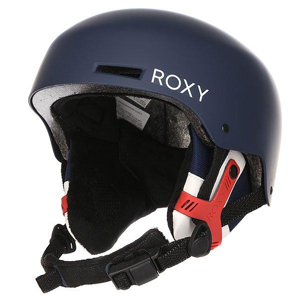 Шлем для сноуборда женский Roxy Muse Blue PrintСтильный шлем двухслойной конструкции с внешней оболочкой из ABS пластика и с внутренним слоем из вспененного амортизирующего материала EPS. Шлем снабжен внутренними вентиляционными каналами, позволяющими воздуху циркулировать и тем самым создавать оптимальный теплообмен. Roxy Muse помимо надежной конструкции обладает интересным принтом, которой несомненно добавит стиля катальному женскому образу.Характеристики:Внешняя оболочка из прочного ABS пластика.Внутренний слой из вспененного материала EPS, амортизирующего удары.Внутренние каналы вентиляции. Мягкие термоформованные съемные амбушюры.Система застежкиFidlock®.Мягкая накладка на подбородок из шерпа-флиса.Крепление для маски. Флисовая подкладка. Вес: 550 грамм. Состав: 100% пластик.<br><br>Цвет: синий<br>Тип: Шлем для сноуборда<br>Возраст: Взрослый<br>Пол: Женский