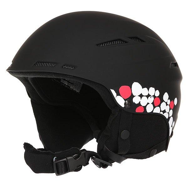Шлем для сноуборда женский Roxy Alley Oop BlackAlley Oop, и никакой трюк Вам не страшен! Теперь защищать свою голову стало еще приятней: внутренняя мягкая флисовая отделка для большего комфорта, продуманная система вентиляции, мягкие наушники и регулировка объема делают этот шлем еще более совершенным. Разработчики не забыли и про внешний вид, поместив на шлем логотип Roxy в форме снежинки.Характеристики:Система вентиляции. Регулировка по объему головы. Крепление для очков. Мягкий вкладыш для подбородка. Шелл из ABS-пластика. Съемные ушные накладки.<br><br>Цвет: черный<br>Тип: Шлем для сноуборда<br>Возраст: Взрослый<br>Пол: Женский
