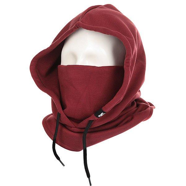 Балаклава женская DC Hoodaclava Cordovan Red<br><br>Цвет: бордовый<br>Тип: Балаклава<br>Возраст: Взрослый<br>Пол: Женский