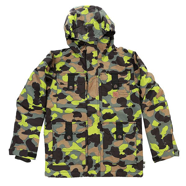 Куртка детская DC Servo Camouflage Lodge You
