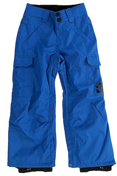 Штаны сноубордические детские DC Banshee Nautical BlueДетские сноубордические штаны, в которых есть всё необходимое для комфортного самочувствия Вашего ребёнка во время катания, независимо от погодных условий. Водонепроницаемая мембранная ткань Exotex 10K и утеплитель 80г защитят от снега, влаги и холода. Как и во взрослых моделях, штаны имеют систему внутренней регулировки талии и систему вентиляции на молниях с внутренней стороны бедер.Характеристики:Влагостойкая ткань Exotex 10K (10 000 мм. / 5 000 г.). Классический крой. Утеплитель 80 г. Подкладка из тафты. Проклеенные критические швы. Сетчатые вставки для вентиляции с внутренней стороны. Снегозащитные гетры с влагостойкой обработкой DWR. Встроенная регулировка талии. Застежка на пуговицах. Крючок на манжете для крепления к ботинку. Петли для крепления штанов к куртке. Карманы для рук на молнии. Два вместительных боковых кармана. Два задних кармана на липучке Velcro.<br><br>Цвет: синий<br>Тип: Штаны сноубордические<br>Возраст: Детский