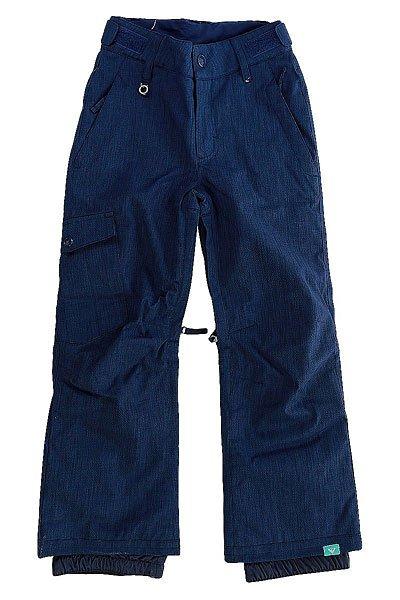 Штаны сноубордические детские Roxy Tonic Blue PrintКлассические штаны, обеспечивающие максимальный комфорт во время катания.Практичный материал и полная функциональность.Характеристики:Водостойкая и дышащая мембрана DRY-FLIGHT 10K (10 000 мм / 10 000 г.). Утеплитель: 60 г.Подкладка из тафты.Регулировка пояса (липучка). Снегозащитные гетры. Сетчатая вентиляция.Держатель для ски-пасса. Накладные карманы. Классический крой.<br><br>Цвет: синий<br>Тип: Штаны сноубордические<br>Возраст: Детский