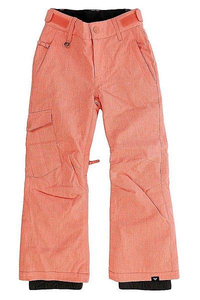 Штаны сноубордические детские Roxy Tonic CamelliaКлассические штаны, обеспечивающие максимальный комфорт во время катания.Практичный материал и полная функциональность.Характеристики:Водостойкая и дышащая мембрана DRY-FLIGHT 10K (10 000 мм / 10 000 г.). Утеплитель: 60 г.Подкладка из тафты.Регулировка пояса (липучка). Снегозащитные гетры. Сетчатая вентиляция.Держатель для ски-пасса. Накладные карманы. Классический крой.<br><br>Цвет: розовый<br>Тип: Штаны сноубордические<br>Возраст: Детский