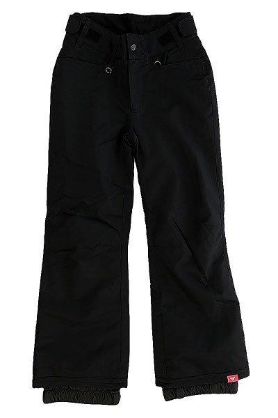 Штаны сноубордические детские Roxy Backyard True BlackПрактичныесноубордические штаны для юных покорительниц склонов и вершин, призванные обеспечивать комфорт на протяжении долгих дней активного катания. Минималистичный дизайн без лишних деталей обеспечивает лаконичный внешний вид, а классический крой создает оптимальную посадку, не сковывая движений. Мембранная ткань DryFlight® 10k не допустит промокания и отведет лишнюю влагу, а утеплитель Warmflight® 80 г сохранит драгоценное тепло. На случай потепления в штанах предусмотрены сетчатые вентиляционные карманы, расположенные с внутренней стороны бедер.Характеристики:Мембрана 10K DryFlight®.Классический крой. Утеплитель Warmflight® 80 г. Подкладка из лёгкой тафты. Проклеенные критические швы. Регулируемая на липучках талия. Сетчатые вставки для вентиляции с внутренней стороны бедер. Гейтеры из тафты. Держатель для ски-пасса.<br><br>Цвет: черный<br>Тип: Штаны сноубордические<br>Возраст: Детский