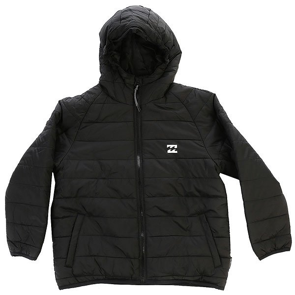 Куртка детская Billabong All Day Puffer Black