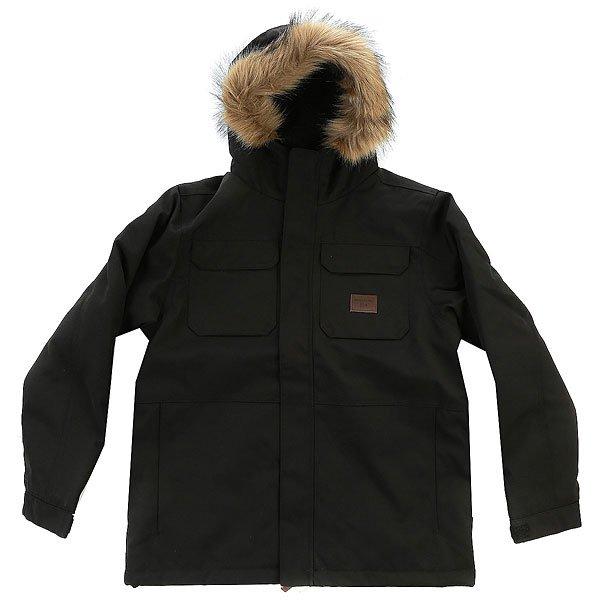 Куртка детская Billabong Olca BlackНет никакихсомнений в том, что куртка-паркаOlca boys является произведением в области дизайна, функциональности и стиля.Характеристики:Регулируемая талия. Теплая подкладка. Регулируемый капюшон с отделкой из искусственного меха.Воротник с защитой подбородка. Благодаря застежкам на кнопках обеспечивается дополнительная изоляция. Нагрудный карман на кнопке. 2 утепленных кармана для рук. Регулируемые манжеты. Водоотталкивающий прочный материал.<br><br>Цвет: синий<br>Тип: Куртка<br>Возраст: Детский