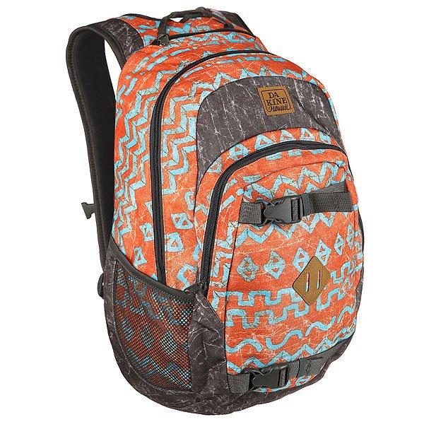 Рюкзак спортивный Dakine Point Wet/Dry Indio<br><br>Цвет: серый,оранжевый<br>Тип: Рюкзак спортивный<br>Возраст: Взрослый<br>Пол: Мужской