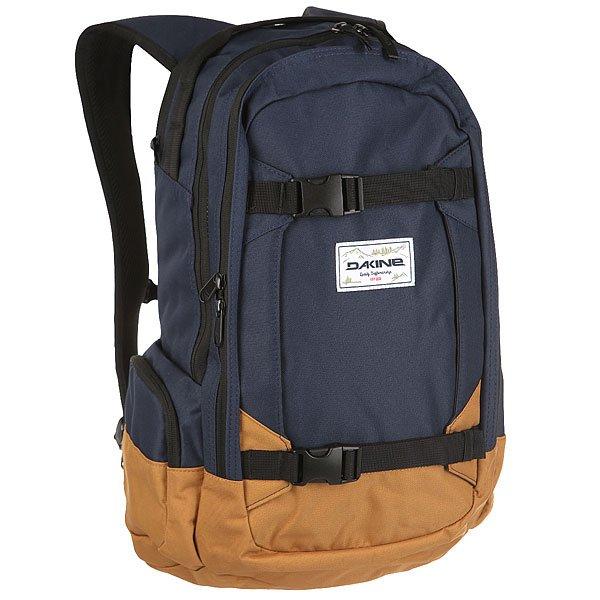 Рюкзак спортивный Dakine Mission Bozeman<br><br>Цвет: синий,коричневый<br>Тип: Рюкзак спортивный<br>Возраст: Взрослый<br>Пол: Мужской